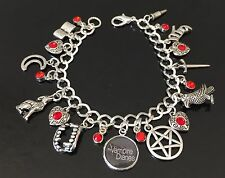 The Vampire Diaries Charm Bracelet, Tv Show, Jewellery, Jewelry, Fandom, Gift