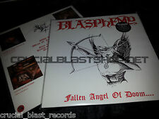 BLASPHEMY Fallen Angel Of Doom LP WHITE Reissue bestial black/death conqueror