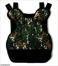 DIGITAL Camo Body Armor Tactical Paintball /Airsoft CHEST PROTECTOR (ACU styled)