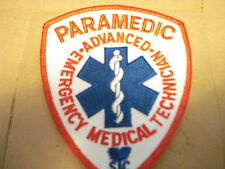 """PARAMEDIC  3 1/2"""" X 4 1/2"""" NEW CLOTHING PATCH"""