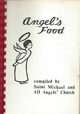 COLUMBIA SC VINTAGE ST MICHAEL +ALL ANGELS EPISCOPAL CHURCH COOK BOOK ANGEL FOOD
