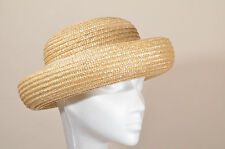 vintage Laura Ashley straw hat Goodwood Revival Retro Events Summer Party