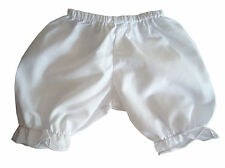 Bargain! White Bloomers 14-16 Inch fits Bitty Baby + Twins Doll Clothes