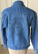 UNITED STATES AIR FORCE  Denim Jacket ONE OF A KIND RAISED DENIM LOOK
