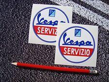 VESPA SERVIZIO Scooter Stickers PIAGGIO Vespa Logo ITALY Mods world days