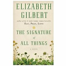 The Signature of All Things (Thorndike Press Large Print Core Series)-ExLibrary