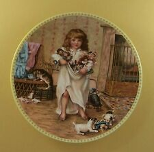 Memories of a Victorian Childhood AN ARMFUL OF TREASURES Plate #4 Cat Dog Doll