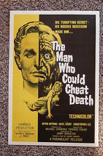The Man Who Could Cheat Death Lobby Card Movie Poster