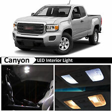 15x White LED Light Interior Package Kit for 2015-2016 GMC Canyon