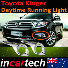 Toyota Kluger 10 11 12 13 14 accessories Driving Daytime Running LED Light Fog
