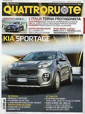 QuattroRuote 2016 727 aprile#Kia Sportage,qqq