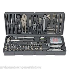 NEW 130 pc Tool Set & Case Auto Home Repair Kit SAE Metric- Lifetime Warranty