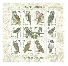 Ukraine - Eulen Kleinbogen Postfrisch 2003 Mi. 574-585