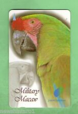 #D25. MILITARY MACAW BIRD  PHONECARD - SINGAPORE TELECOM