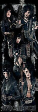"BLACK VEIL BRIDES GROUP PHOTO DOOR POSTER 21"" X 62"" NEW !"