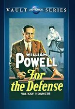 For the Defense (William Powell) - Region Free DVD - Sealed
