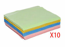 10 x Large Microfibre Camera Lens Spectacle Glasses Microfiber Cleaning Cloth