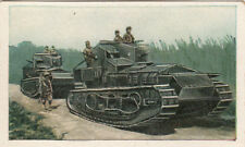 N°98 Japan Tank Panzer M 18 Machine Gun cannon World War Germany WWI 30s CHROMO