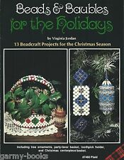 Beads & Baubles for the Holidays Virginia Jordan Vintage Instruction Book NEW