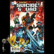 New SUICIDE SQUAD #1 2nd Print DC Comics HARLEY QUINN New 52 VF!