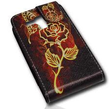 Design 4 Flip Tasche Cover Case Handy Hülle Etui für Samsung S7562 Galaxy S Duos
