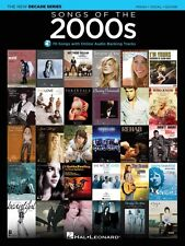 Songs of the 2000s Sheet Music The New Decade Series with Optional Onl 000137608