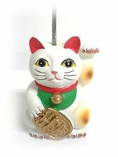 Ticket Holder - Bingo - Admission - Lucky Cat - White