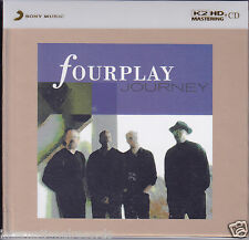 """""""Fourplay Journey"""" Limited Numbered Edition Japan Sony 100KHz/24bit K2HD CD New"""