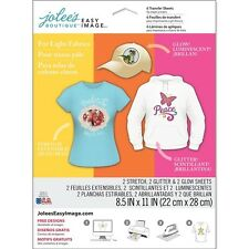 Jolee's  Boutique Easy Image 6 Transfer Sheets for Light Fabrics 8.5in x 11in