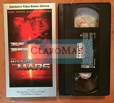 ☀️ Mission to Mars VHS Tim Robbins Gary Sinise Don Cheadle Connie Nielsen MINT