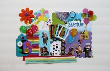 Disney Pixar Up Custom Chipboard Mini Book Album DIY Kit (Scrapbook)