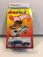 #1  '73 Ford Gran Torino BLUE * The HOT ONES Hot Wheels * H8