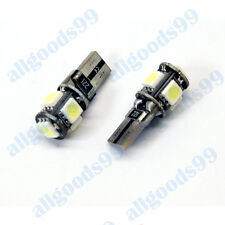 Ford Fiesta MK7 LED White LICENSE NUMBER PLATE BULBS LIGHTS - T10 501 Error Free