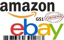 1,000 UPC Numbers Barcodes Bar Code Number 1000 EAN Amazon Lifetime Guarantee
