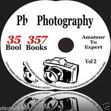 357 Photography PDF Books on 2DVD'S camera lens canon sony nikon fujifilm