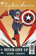 Captain America #4 (NM)`02 Rieber/ Cassaday