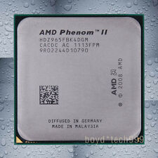 AMD Phenom II X4 965 CPU Processor HDZ965FBK4DGM 3.4 GHz 667 MHz Socket AM3