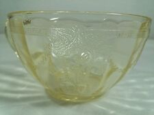 Cameo - Yellow Cups Depression Glass Hocking Ballerina Dancing Girl��