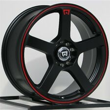 17 Inch Wheels Rims Black Scion Acura Honda Accord Civic FITS: Altima 5 Lug