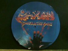 SAXON  Power & The Glory  LP   PICTURE DISC   Rare     Lovely copy !!