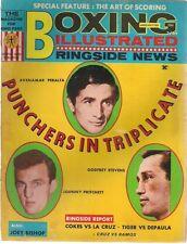BOXING ILLUSTRATED RINGSIDE NEWS Magazine January 1969