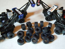 Tom's HO Slot Car Soft Black Silicone .490 Drag Racing Tires 10 Pair