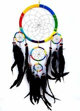 Handmade Dream Catcher wall hanging decoration ornament- long feathers -co5