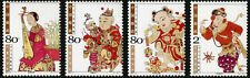 China 2004-2 Taohuawu New Year Woodprint MNH