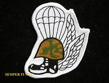 PARACHUTE JUMP WINGS PATCH NAVY ARMY MARINES AIR FORCE USCG USA BOOTS SAR RECON