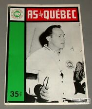 1963-64 AHL Quebec Aces Program Floyd Curry Cover