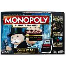 Monopoly Game: Ultimate Banking Edition Electronic Game Board New