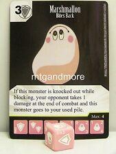 Yu-Gi-Oh dice Masters - #093 marshmallon-Bites Back-base set