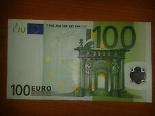 N1 Europe Italy 100 Euro 2002, S-serie aUnc, Trichet Sign, Printer J024B4