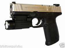 Pistol Flashlight For SMITH AND WESSON SW9VE SW40VE Sigma Pistol Light.